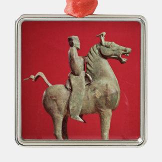 Man on horseback from Wu-wei, Kansu Christmas Ornament