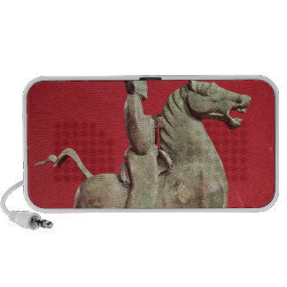 Man on horseback from Wu-wei, Kansu iPod Speaker