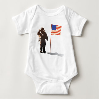 Man on the moon - Astronaut Baby Bodysuit
