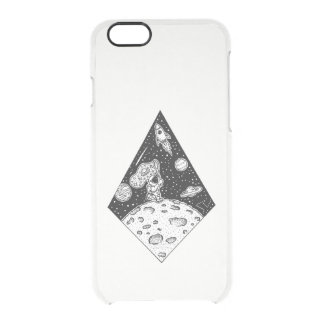 Man on the Moon Clear iPhone 6/6S Case