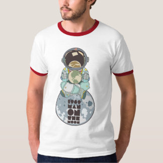 Man on the moon shirts