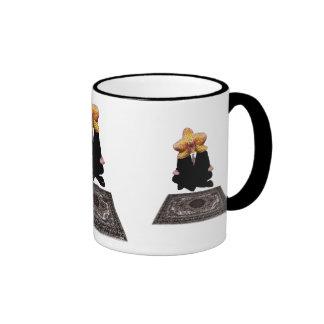 Man Orchid Ringer Mug