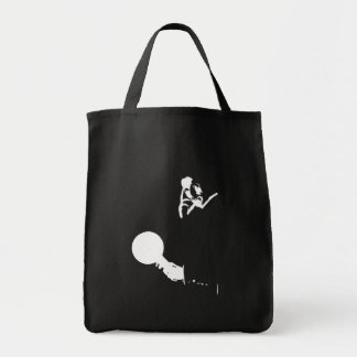 Man Out of Time Grocery Tote