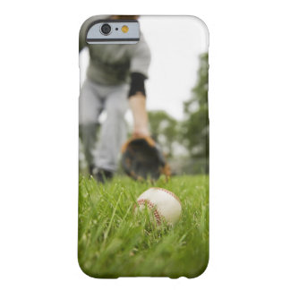 Man playing baseball barely there iPhone 6 case