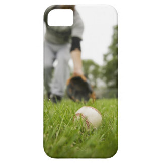 Man playing baseball iPhone 5 cases