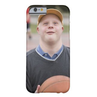 Man playing basketball barely there iPhone 6 case
