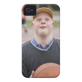 Man playing basketball iPhone 4 case