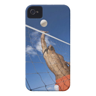 Man playing beach volleyball iPhone 4 cover