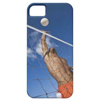 Man playing beach volleyball iPhone 5 covers