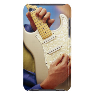 Man playing electric guitar iPod touch covers