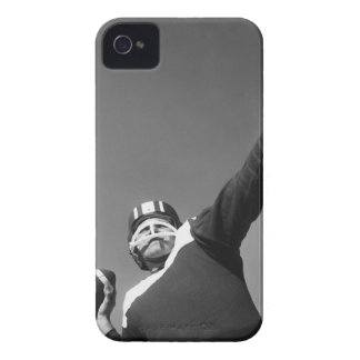 Man Playing Football 2 iPhone 4 Case-Mate Cases