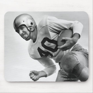 Man Playing Football 3 Mouse Mat