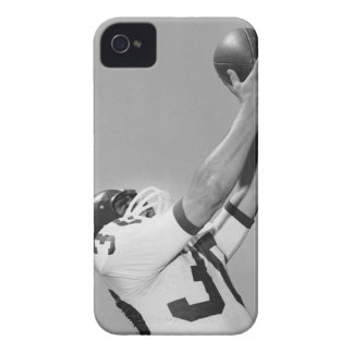 Man Playing Football iPhone 4 Case
