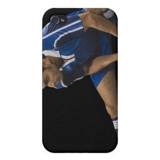 Man playing soccer iPhone 4/4S covers