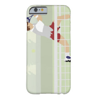 Man playing tennis 2 barely there iPhone 6 case