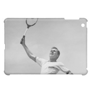 Man playing tennis cover for the iPad mini