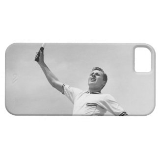 Man playing tennis iPhone 5 case