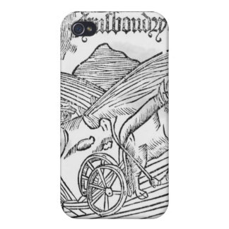 Man Ploughing a Field iPhone 4 Case