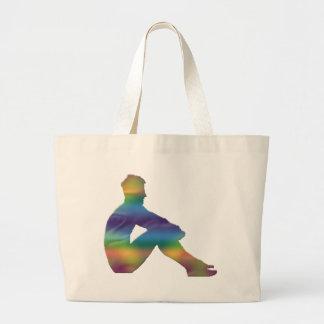 Man Posing Tote Bag