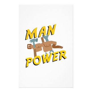 Man Power Custom Stationery
