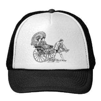 Man Pulls Women Hats