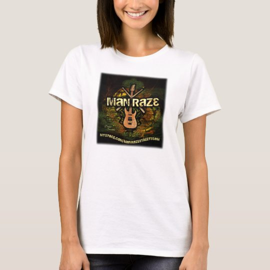 man raze grunge Strap T-Shirt