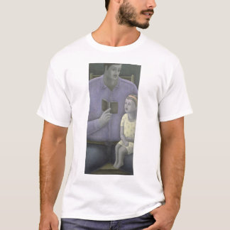 Man reading to Girl 2003 T-Shirt