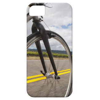 Man road biking at high speed POV iPhone 5 Cover