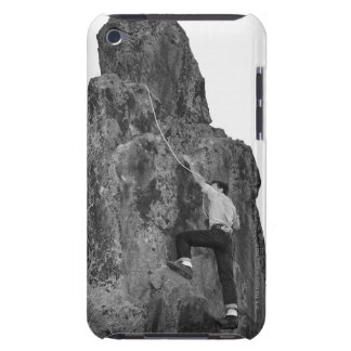 Man Rock Climbing Barely There iPod Case