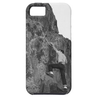 Man Rock Climbing iPhone 5 Covers