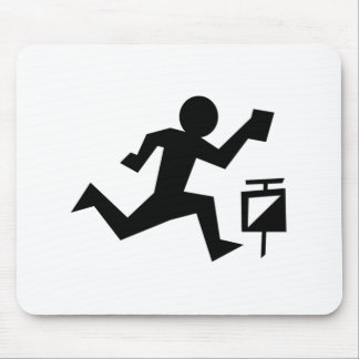 Man Running Mouse Mat