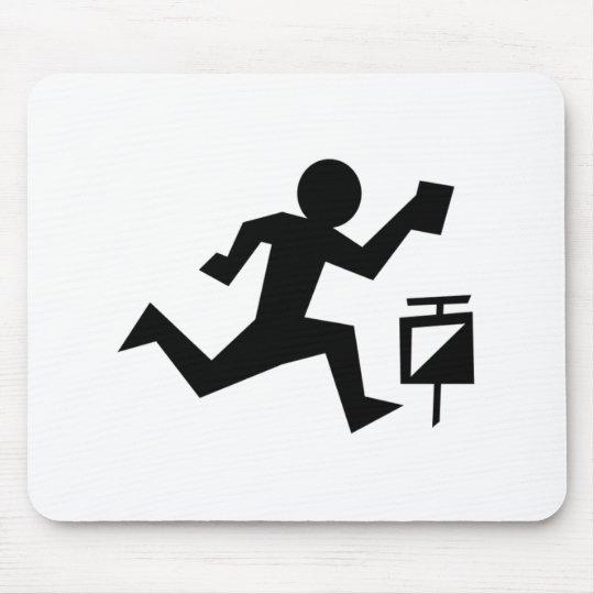 Man Running Mouse Mat