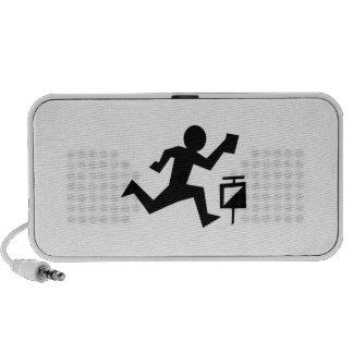 Man Running Travel Speaker