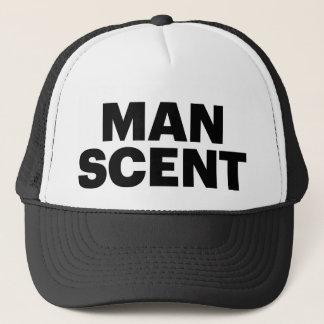 MAN SCENT fun slogan trucker hat