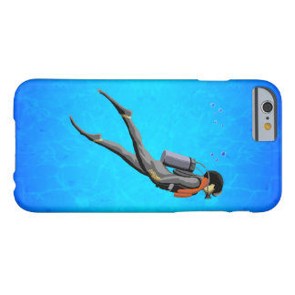 Man SCUBA Diving Barely There iPhone 6 Case