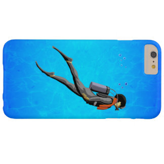 Man SCUBA Diving Barely There iPhone 6 Plus Case