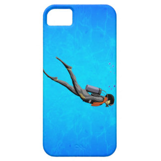 Man SCUBA Diving Case For The iPhone 5