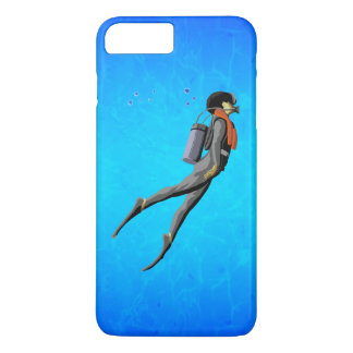 Man SCUBA Diving iPhone 7 Plus Case