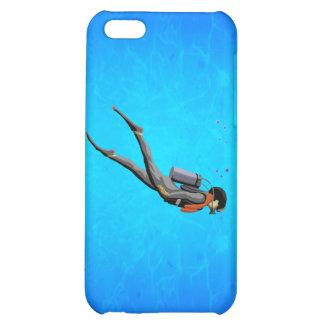 Man SCUBA Diving iPhone 5C Case