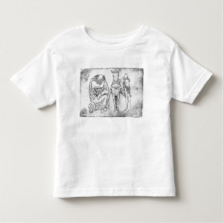 Man seated, Knight mounting his horse Toddler T-Shirt