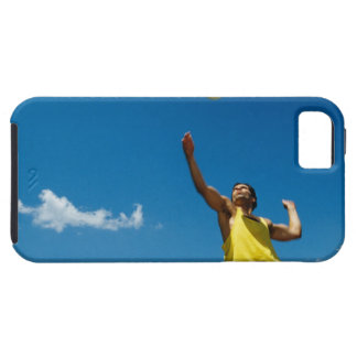 Man serving volleyball iPhone 5 case
