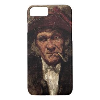 Man smoking a pipe, c.1859 iPhone 8/7 case