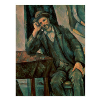 Man Smoking a Pipe Postcard