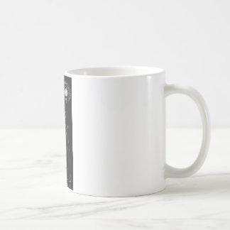 man smoking basic white mug