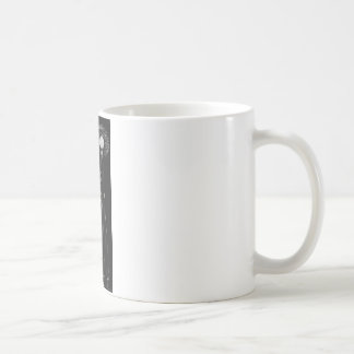 man smoking mug