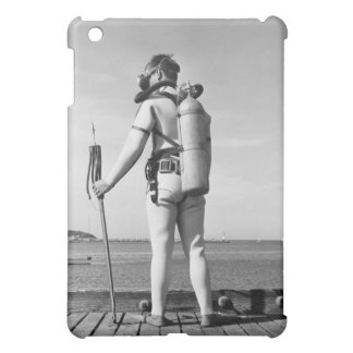Man Standing on Pier Cover For The iPad Mini