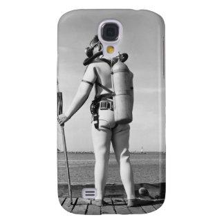 Man Standing on Pier Galaxy S4 Case