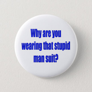 Man suit  Button