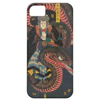 Man Summons Snake- Japanese Woodblock Print Case For The iPhone 5