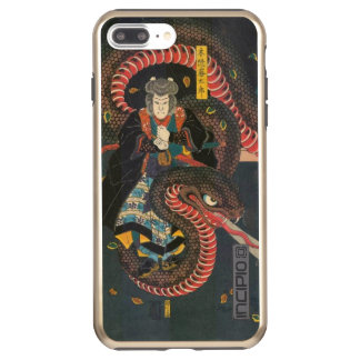 Man Summons Snake- Japanese Woodblock Print Incipio DualPro Shine iPhone 8 Plus/7 Plus Case